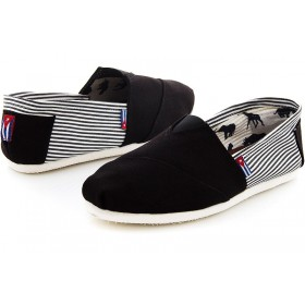 Эспадрильи мужские Las Espadrillas Classic Black Stripes