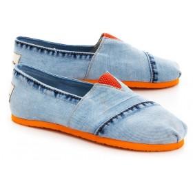 Эспадрильи женские Forester Orange Jeans