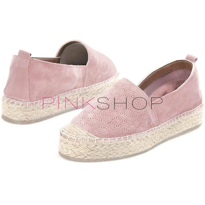 94079533aac1 Эспадрильи женские Las Espadrillas High Flowers Pink купить в Киеве ...