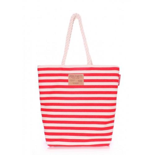Текстильная сумка PoolParty Las Palmas Red