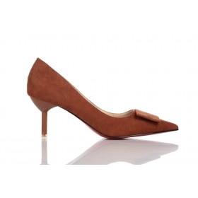 Loren Leather Pumps Brown 115505