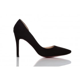 Loren Leather Pumps Black 115507