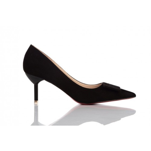 Loren Leather Pumps Black 115508 женские туфли