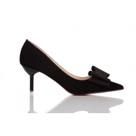Loren Leather Pumps Black 115510