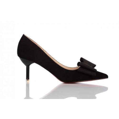 Loren Leather Pumps Black 115510 женские туфли