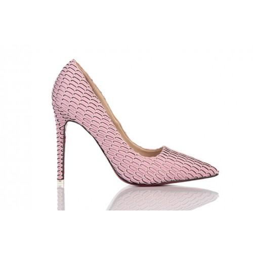 Loren Leather Pumps Pink 115515 женские туфли