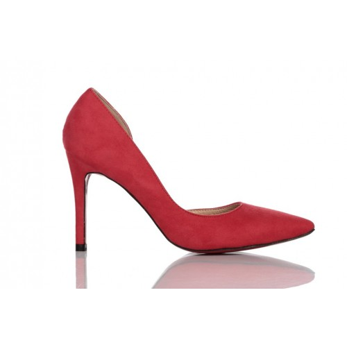 Loren Leather Pumps Red 115520
