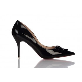 Loren Leather Pumps Black 115524