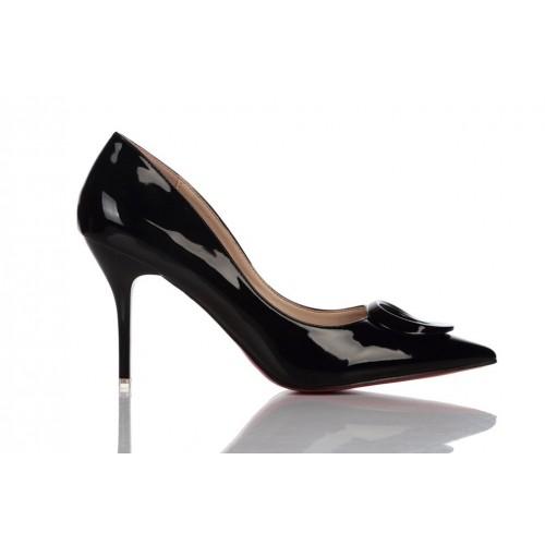 Loren Leather Pumps Black 115524 женские туфли