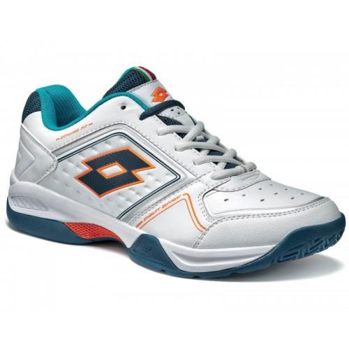 Lotto Court T-Tour VIII 600 White Blue Teal мужские кроссовки (оригинал)