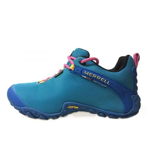 Merrell Continuum Goretex Blue женские полуботинки