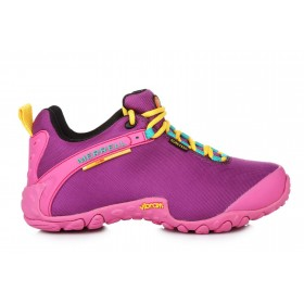 Merrell Continuum Goretex Purple Pink женские полуботинки