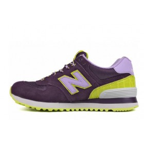New Balance 574 BFF Pack Purple Candy женские кроссовки
