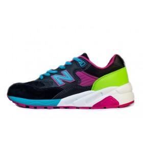 New Balance 580 Black Rainbow женские кроссовки
