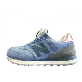 New Balance ML 574 Jeans Blue женские кроссовки