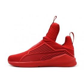Rihanna x Puma Fenty Trainer Red женские кроссовки