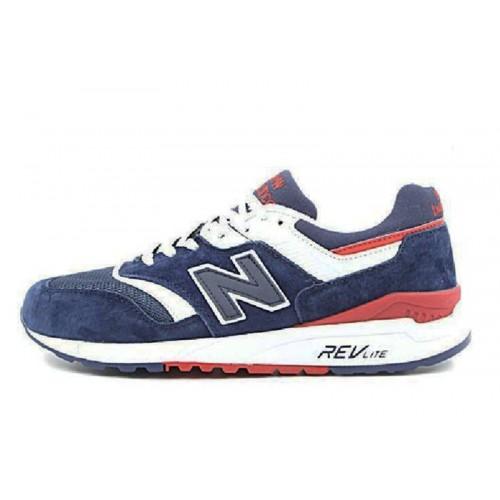 New Balance M997 Dark Blue мужские кроссовки