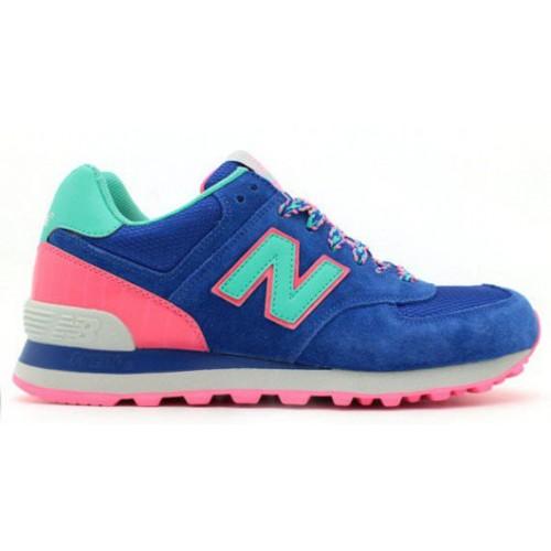 New Balance 574 BFF Pack Blue Candy женские кроссовки