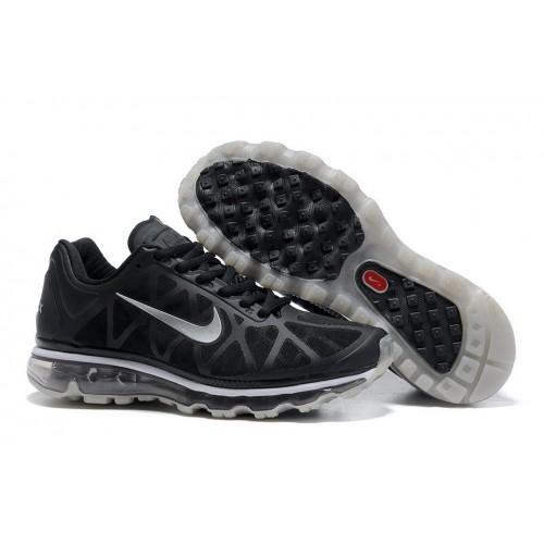 Nike Air Max 2011 Gray Black мужские АирМаксы