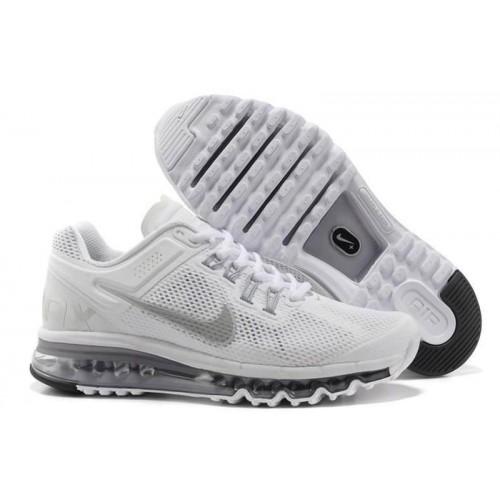 Nike Air Max 2013 White мужские АирМаксы