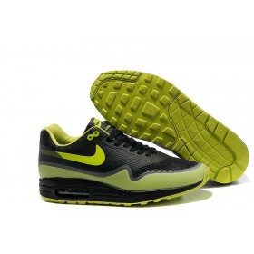 Nike Air Max 87 Hyperfuse Black Lime мужские кроссовки