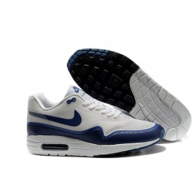 Nike Air Max 87 Hyperfuse White Blue мужские кроссовки