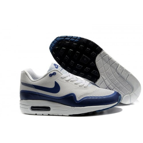Nike Air Max 87 Hyperfuse White Blue мужские АирМаксы