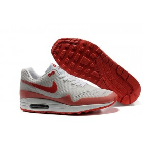 Nike Air Max 87 Hyperfuse White Red мужские кроссовки