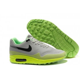 Nike Air Max 87 Hyperfuse Grey Lime мужские кроссовки