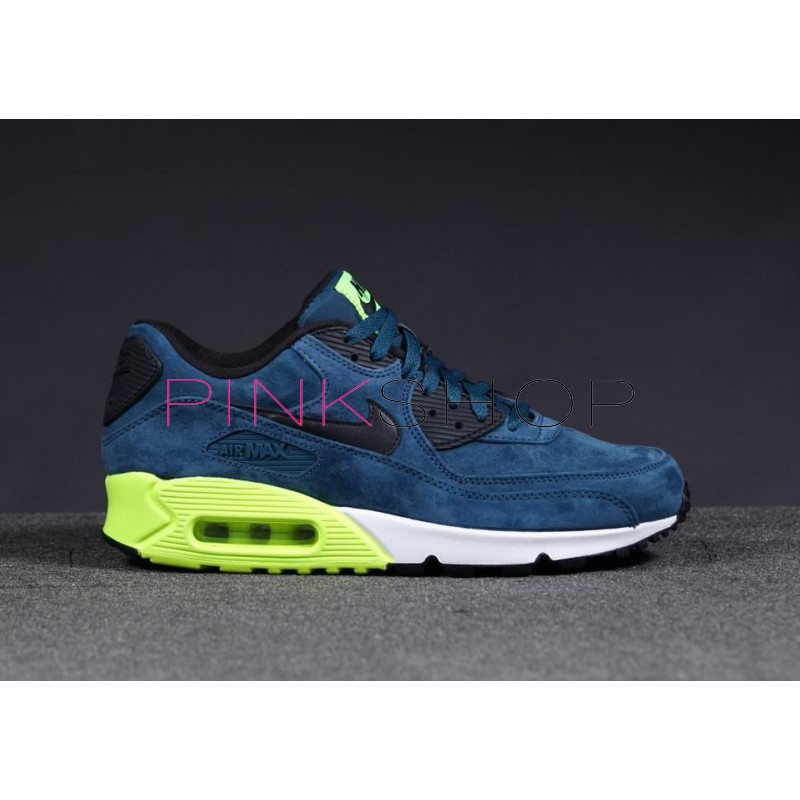 the latest f3b3e e300a ... germany nike air max 90 premium blue green d6275 a4d58