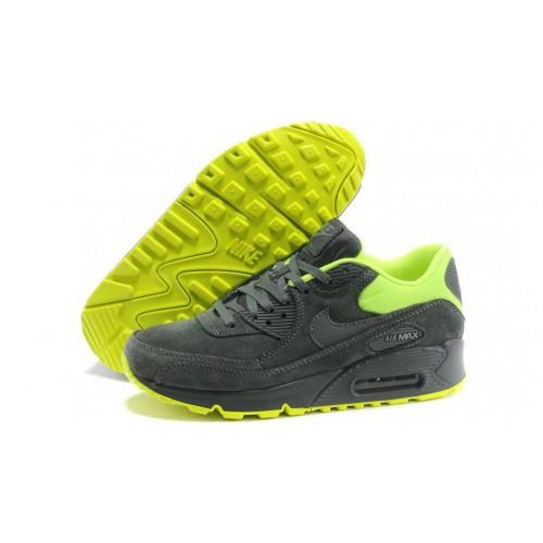 Nike Air Max 90 Essential Gray Green мужские кроссовки