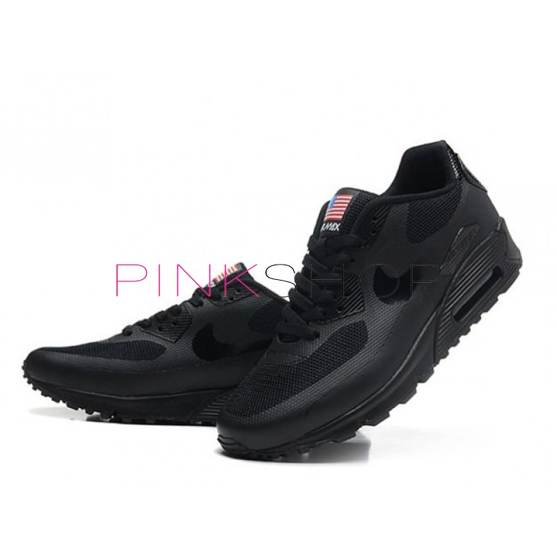 ... Nike Air Max 90 Hyperfuse Independence Day Black мужские кроссовки ... 9a82f8d8cdc