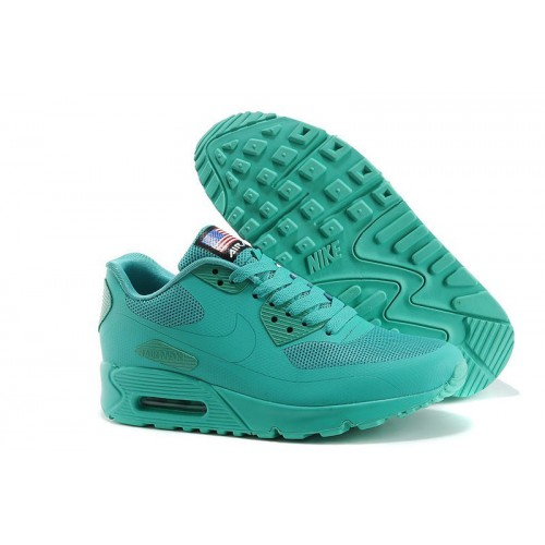 Nike Air Max 90 Hyperfuse Independence Day Turquoise мужские АирМаксы