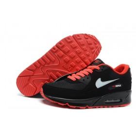Nike Air Max 90 Red Black мужские кроссовки