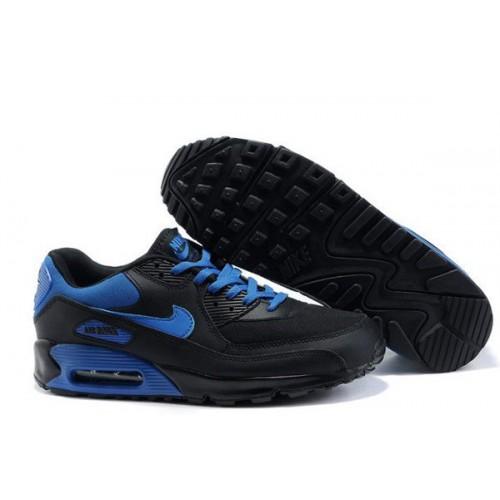 Nike Air Max 90 Blue Black мужские АирМаксы