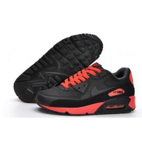 Nike Air Max 90 Black Red мужские кроссовки