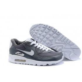 Nike Air Max 90 Grey White мужские кроссовки
