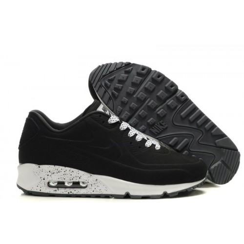 Nike Air Max 90 VT Tweed Black White мужские АирМаксы