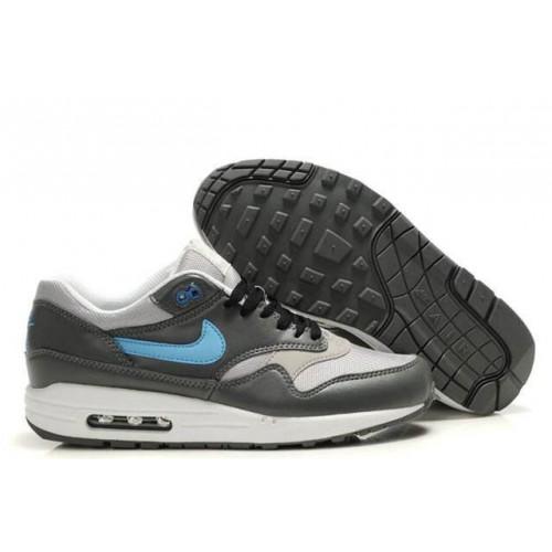 Nike Air Max 87 Silver Blue мужские АирМаксы