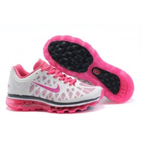Nike Air Max 2011 White Pink женские кроссовки