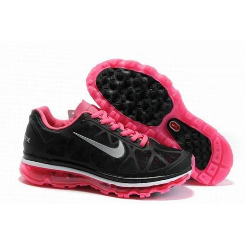 Nike Air Max 2011 Black Pink женские АирМаксы
