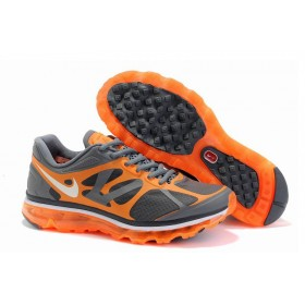 Nike Air Max 2012 Orange Grey мужские кроссовки