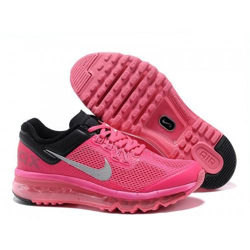 Nike Air Max 2013 Black Pink женские АирМаксы