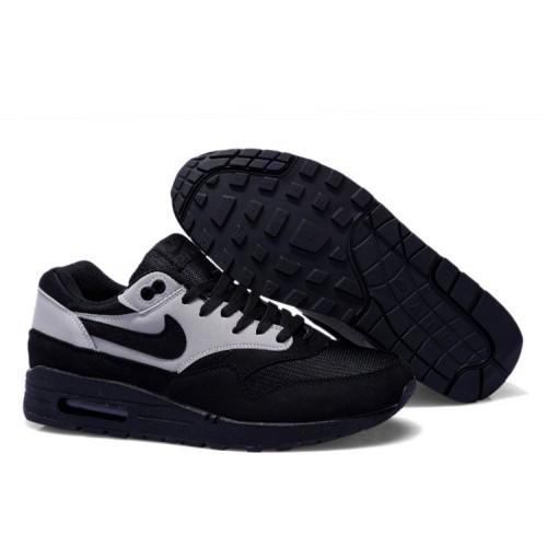 Nike Air Max 87 Black Grey мужские АирМаксы