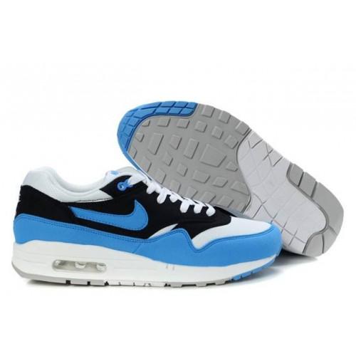 Nike Air Max 87 Blue White Black мужские АирМаксы