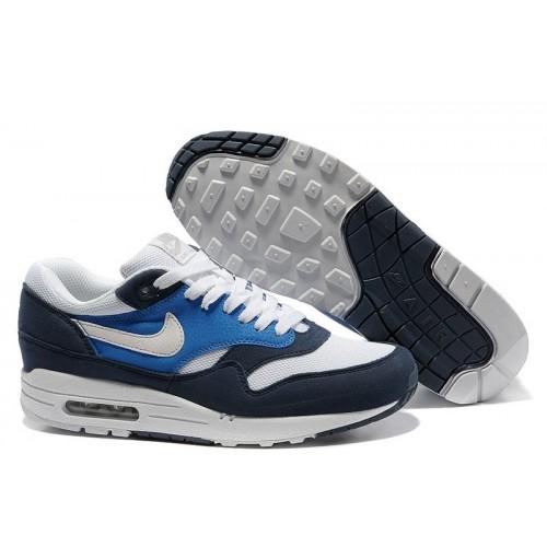 Nike Air Max 87 Dark Blue White мужские АирМаксы