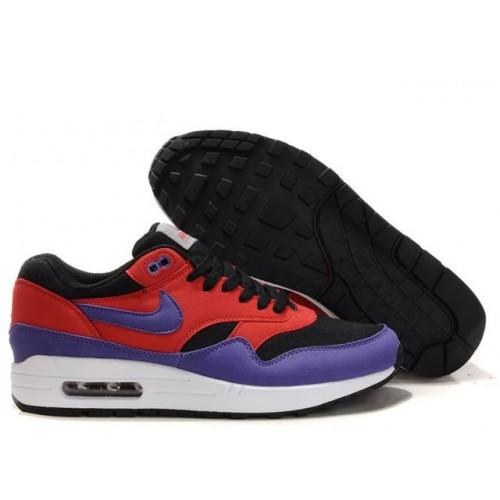 Nike Air Max 87 Red Black мужские АирМаксы