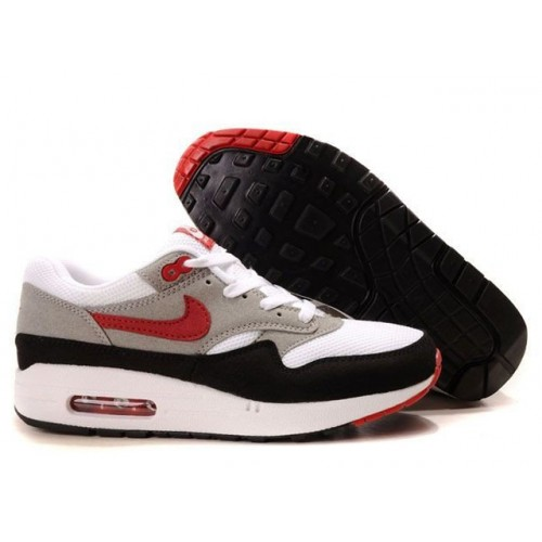 Nike Air Max 87 White Red мужские кроссовки