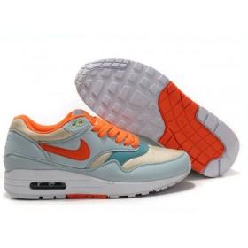 Nike Air Max 87 Orange Green White женские кроссовки