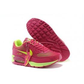 Nike Air Max 90 Gl Pink Green женские кроссовки